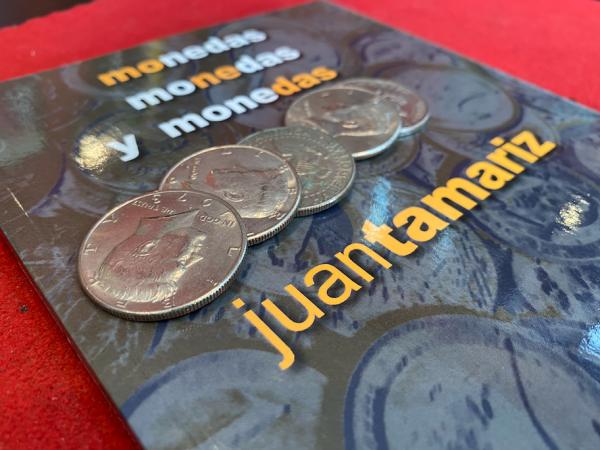Monedas, monedas y monedas - Juan Tamariz - Magia Cadabra