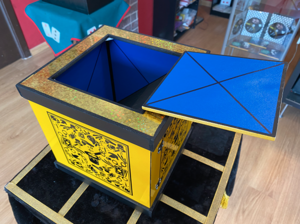 Caja producción - Magia Cadabra