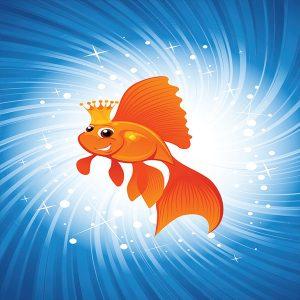 Aparición de pez (Goldfish)