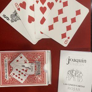 Las cinco cartas rojas – Joaquín Matas