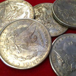 Monedas morgan – Acero