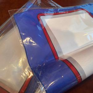 Carta en el pañuelo – carta blanca 30 cm x 30 cm